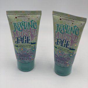 Posh, Resting Mermaid Face Mask, x2, Retired & New